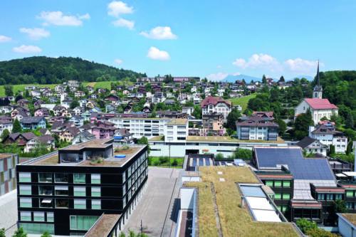 Horwer Allmend, Dorfzentrum, Kirchfeldhügel, 2019