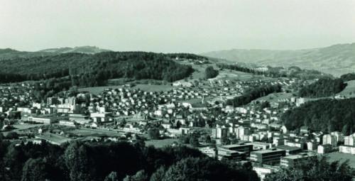 Zentrum Oberrütihang 1977