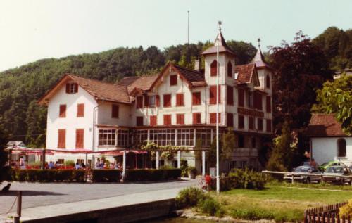 Das alte Hotel Sternen 1984.