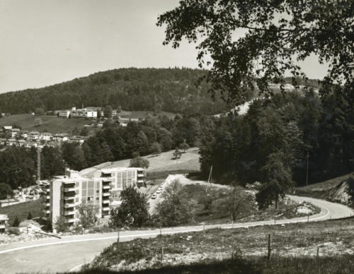 Neumattstrasse Kirchfeldhügel 1975